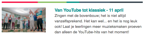 Stempeldag YouTube Klassiek